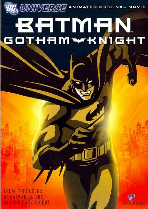 BATMAN:GOTHAM KNIGHT BY BATMAN (DVD)